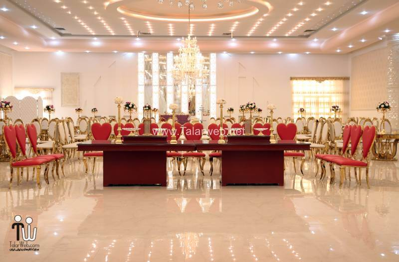 shamsolemareh weddinghall 1 - باغ تالارهای عزتی