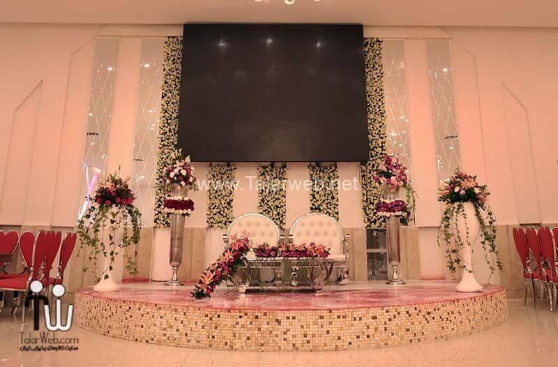 shamsolemareh weddinghall 7 - تالارپذیرایی شمس العماره