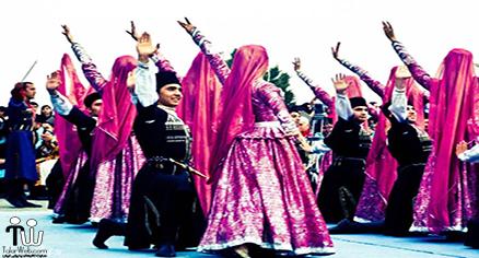 دوره های آموزشی حرکات نمایشی محلی آذربایجان یا رقص ترکی