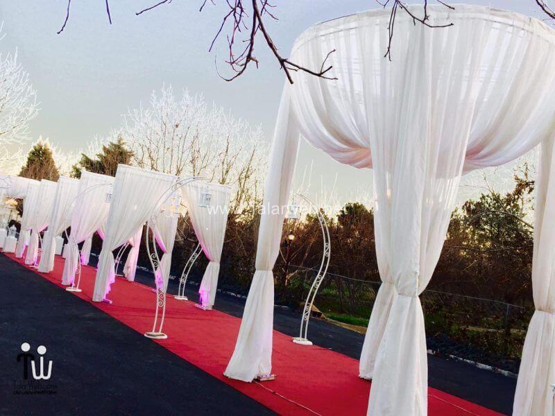 gerdoo wedding hall 14 - تالار پذیرایی باغ گردو