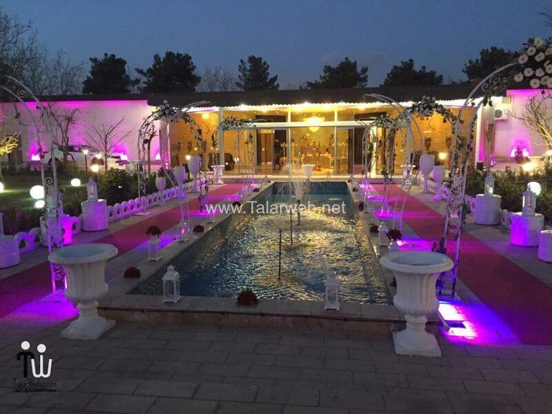 gerdoo wedding hall 18 - تالار پذیرایی باغ گردو