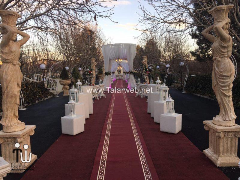 gerdoo wedding hall 22 - تالار پذیرایی باغ گردو