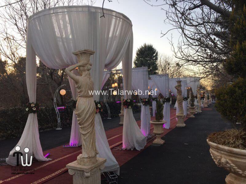 gerdoo wedding hall 24 - تالار پذیرایی باغ گردو