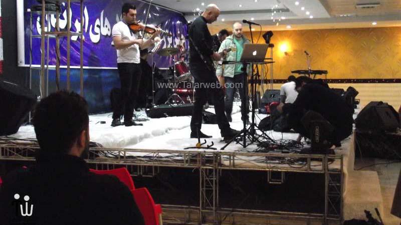 hotel iranian 16 - تالار پذیرایی هتل ایرانیان