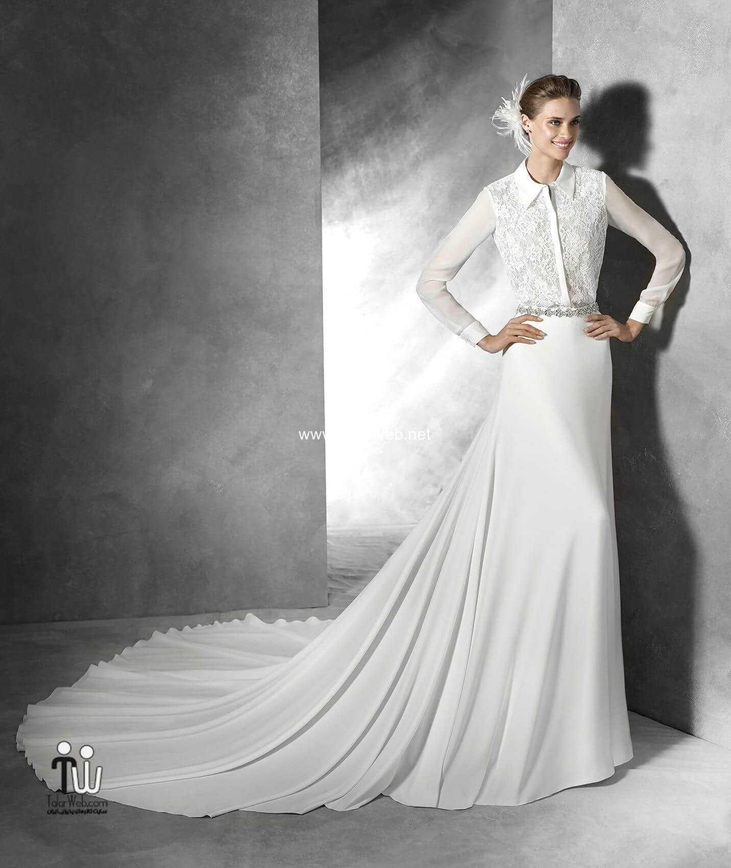 Wedding dresses bridal 2016 12 - مدل لباس عروس ۲۰۱۶ - سری۱