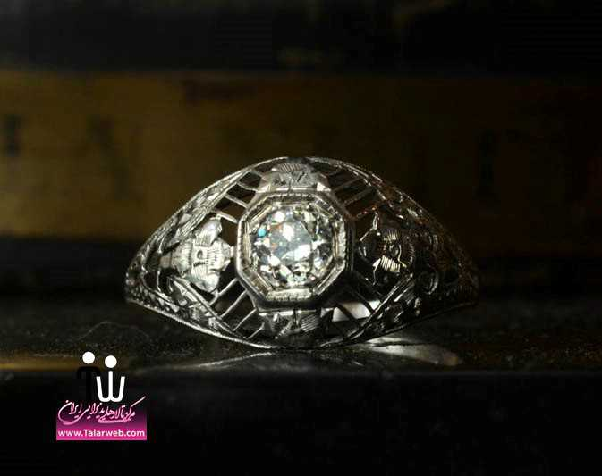 antique engagement rings for vintage brides 12.full  - حلقه عروسی و انگشتر نامزدی ۲