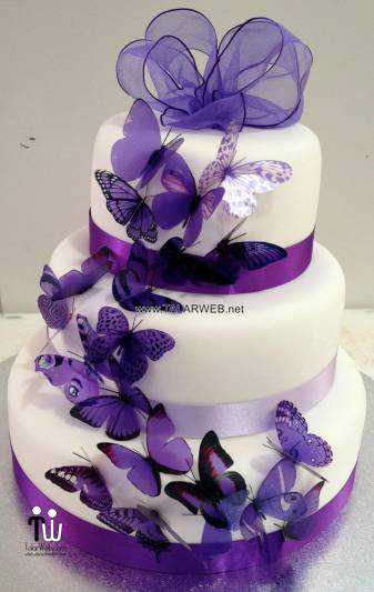 blue-and-purple-wedding-cake-designs