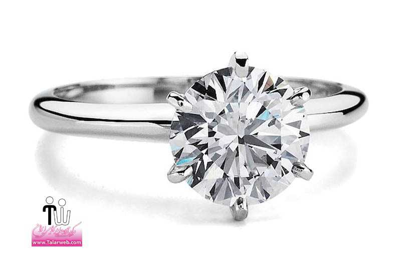 blue nile engagement rings classic six prong.full  - حلقه عروسی و انگشتر نامزدی ۲