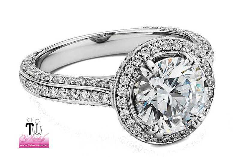 blue nile engagement rings heirloom halo.full  - حلقه عروسی و انگشتر نامزدی ۳