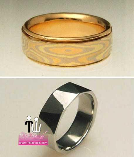 create design your own custom grooms wedding band.full  - مدل های زیبای انگشتر و حلقه عروس