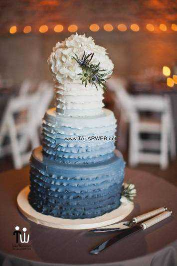 dark-blue-wedding-cakes