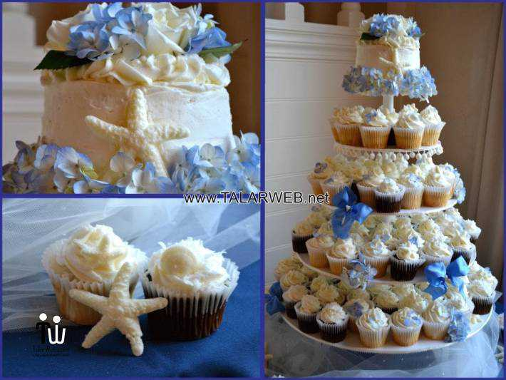 dark-blue-wedding-cupcakes