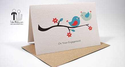 نمونه های کارت عروس خارجی – سری ۲