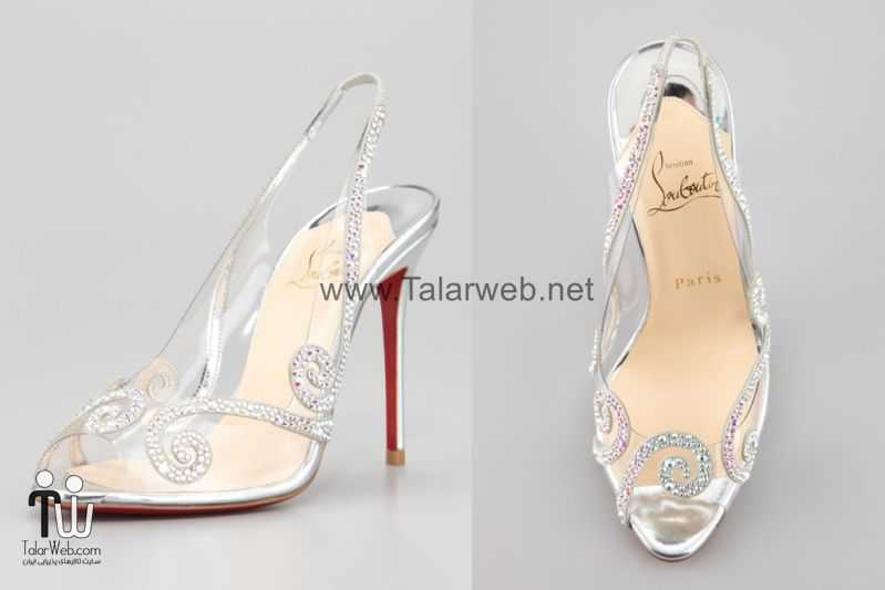 illusion wedding shoes for 2013 brides glass slipper louboutins.full  - مدل های زیبا از کفش عروس