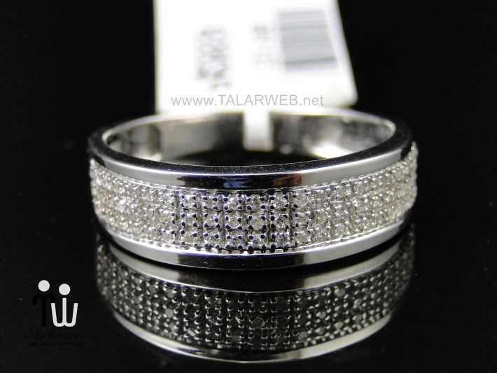 platinum diamond wedding rings for men - انگشتر نامزدی و ازدواج -سری ۲