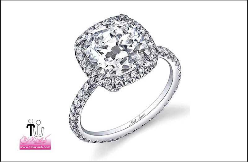 popular engagement rings 2011 neil lane cushion cut.full  - مدل های زیبای انگشتر و حلقه عروس ۱