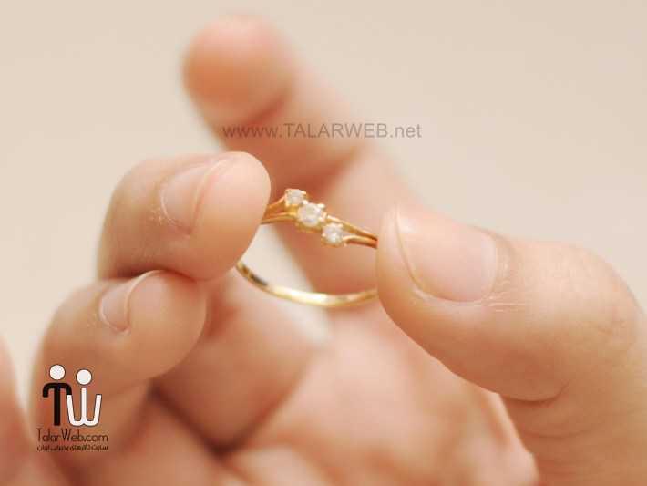 pure gold ring with price - انگشتر نامزدی و ازدواج -سری ۲
