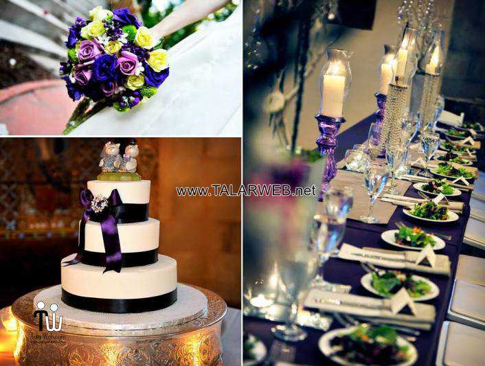 purple-and-green-wedding-party