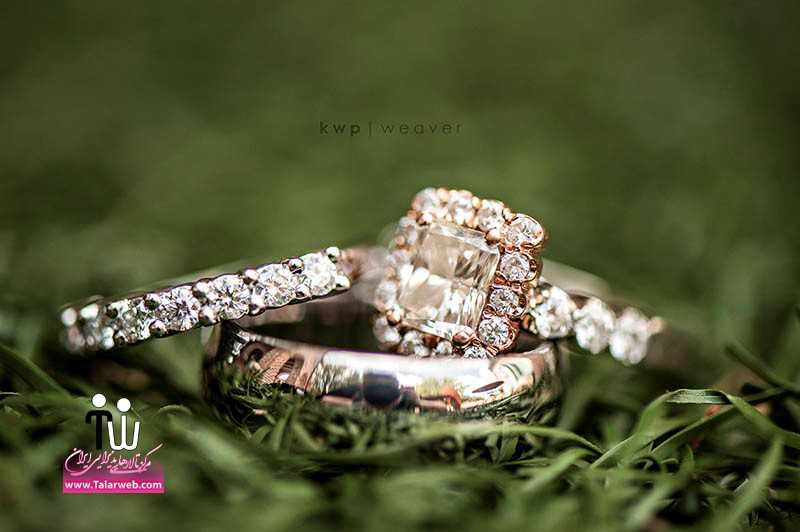 مدل های زیبای انگشتر و حلقه عروس