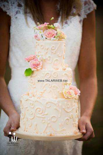 rustic wedding cake designs - کیک عقد و عروسی