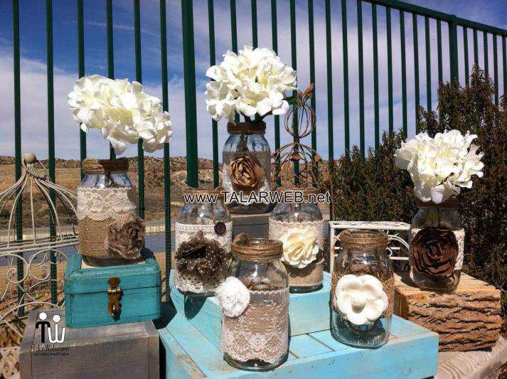 rustic wedding ideas with burlap - کیک عقد و عروسی