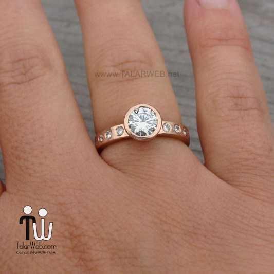 مدل زیبای انگشتر برای عروس خانم ها
