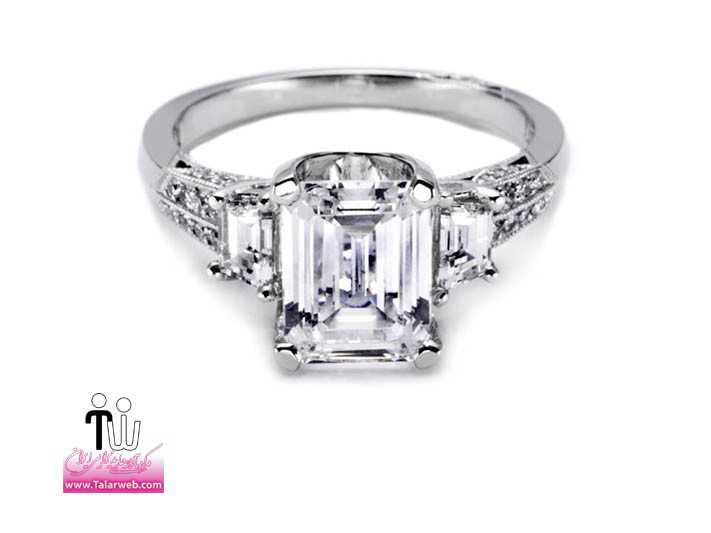 tacori diamond engagement ring celebrity engagements kim kardashian.full  - سری زیبا و شیک مدل انگشتر و حلقه عروس