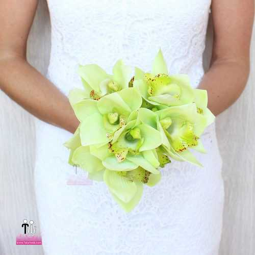 talarweb.net Bouquet Bride 1 3 500x500 - متفاوت ترین مدل های دسته گل عروس