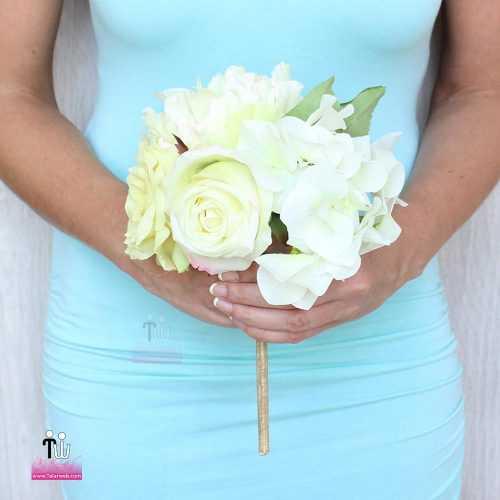 talarweb.net Bouquet Bride 10 2 500x500 - متفاوت ترین مدل های دسته گل عروس