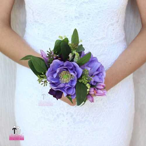 talarweb.net Bouquet Bride 10 3 500x500 - متفاوت ترین مدل های دسته گل عروس - سری ۲