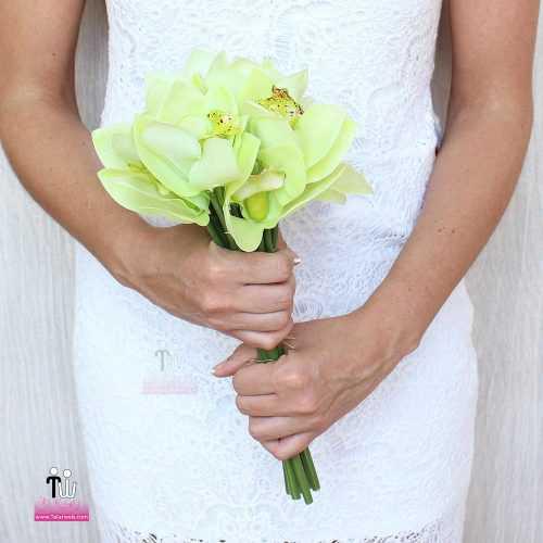 talarweb.net Bouquet Bride 2 3 500x500 - متفاوت ترین مدل های دسته گل عروس