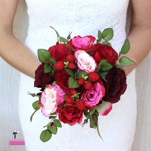 talarweb.net Bouquet Bride 2 4 500x500 - متفاوت ترین مدل های دسته گل عروس - سری ۲