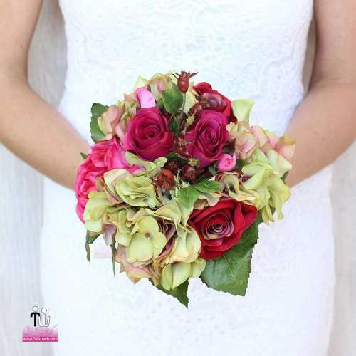 talarweb.net Bouquet Bride 3 4 500x500 - متفاوت ترین مدل های دسته گل عروس - سری ۲