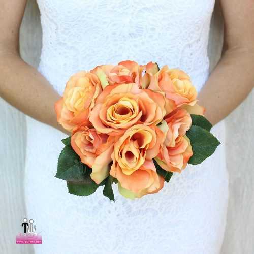 talarweb.net Bouquet Bride 4 3 500x500 - متفاوت ترین مدل های دسته گل عروس