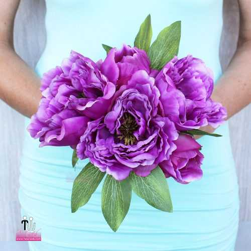 talarweb.net Bouquet Bride 4 4 500x500 - متفاوت ترین مدل های دسته گل عروس - سری ۲