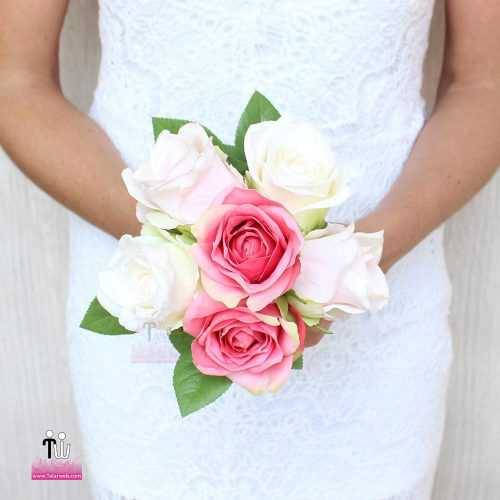 talarweb.net Bouquet Bride 6 3 500x500 - متفاوت ترین مدل های دسته گل عروس
