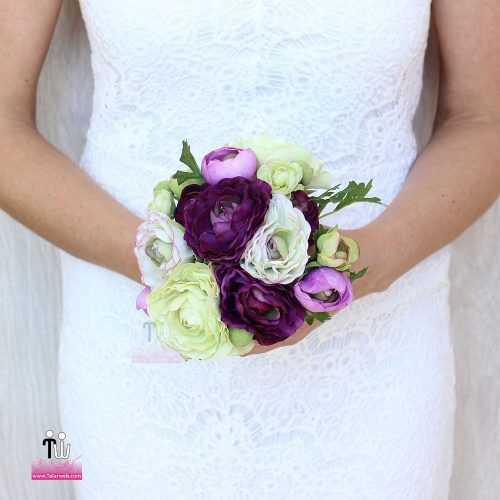 talarweb.net Bouquet Bride 6 4 500x500 - متفاوت ترین مدل های دسته گل عروس - سری ۲