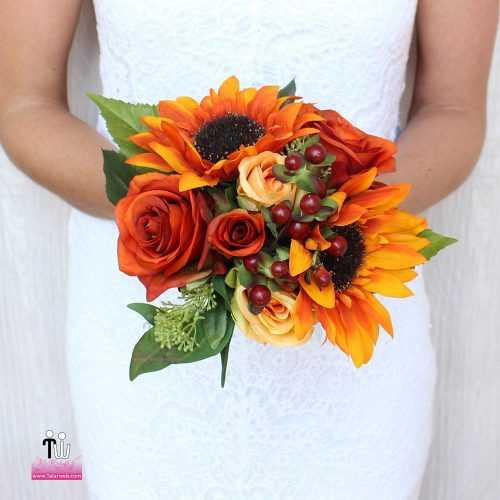 talarweb.net Bouquet Bride 7 4 500x500 - متفاوت ترین مدل های دسته گل عروس - سری ۲