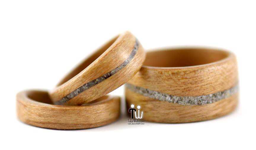 talarweb.net wedding ring 12 - شیک ترین و جدیدترین مدلهای چوبی حلقه  عروس و داماد ۲۰۱۶