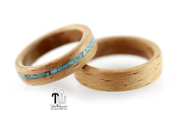 talarweb.net wedding ring 15 - شیک ترین و جدیدترین مدلهای چوبی حلقه  عروس و داماد ۲۰۱۶