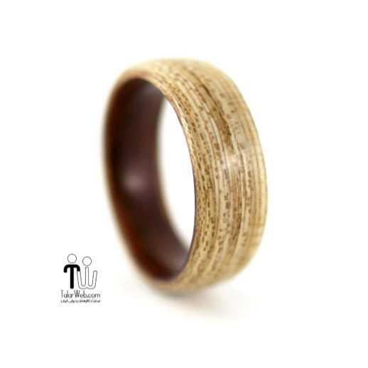 talarweb.net wedding ring 17 - مدل حلقه چوبی دست ساز جدید ۱
