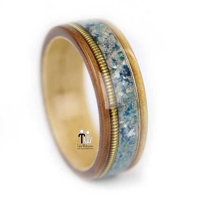 talarweb.net wedding ring 18 - مدل حلقه چوبی دست ساز جدید ۱