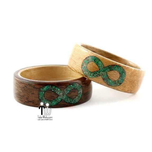 talarweb.net wedding ring 19 - شیک ترین و جدیدترین مدلهای چوبی حلقه  عروس و داماد ۲۰۱۶