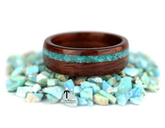 talarweb.net wedding ring 24 - مدل حلقه چوبی دست ساز جدید ۱