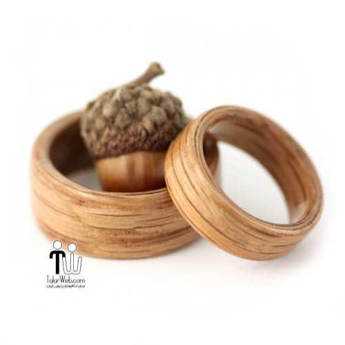 talarweb.net wedding ring 28 - شیک ترین و جدیدترین مدلهای چوبی حلقه  عروس و داماد ۲۰۱۶