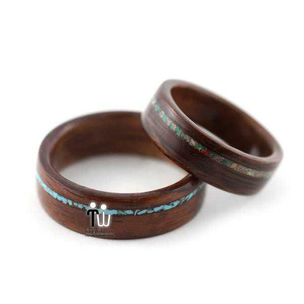talarweb.net wedding ring 6 - شیک ترین و جدیدترین مدلهای چوبی حلقه  عروس و داماد ۲۰۱۶