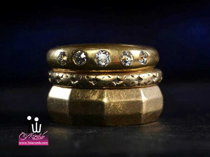 vintage engagement rings unique wedding jewelry gold wedding bands.full  - سری زیبا و شیک مدل انگشتر و حلقه عروس