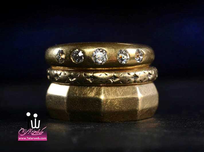 مدل انگشتر و حلقه عروس جدید