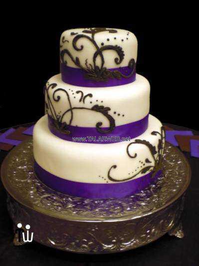 wedding-cake-designs-purple