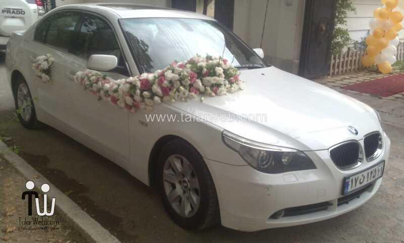 weddingcar talarweb 10 1 - تزئین مدل ماشین های لوکس عروس ایرانی